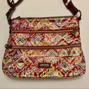 Sakroots Crossbody Bag Be Brave